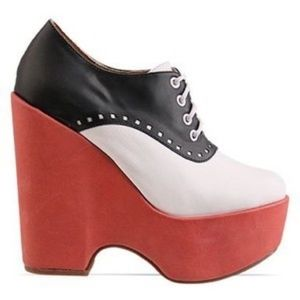 Jeffrey Campbell Lindy Platform Saddle Shoes - 5